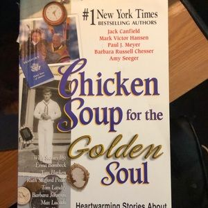 Chicken Soup for the Golden Soul Book